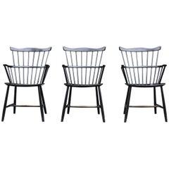 Mid-Century Modern Windsor Chairs