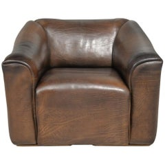 Vintage De Sede DS 47 Leather Armchair, Switzerland, 1970s