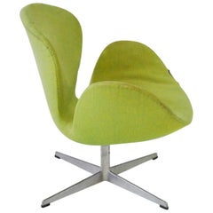 As Found Arne Jacobsen for Fritz Hansen Adjustable Height Swan Chair