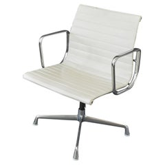 Aluminum Swivel Chair EA 108 by Charles & Ray Eames for Herman Miller, 1980s
