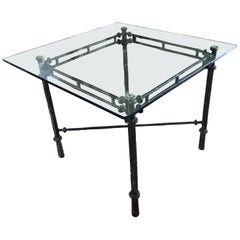Wonderful Cast Aluminum Giacometti Style Table