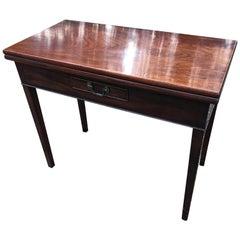 18th Century Mahogany Tea Table