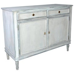 Swedish Style Painted Cabinet