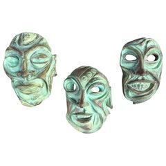 Harry Matias Ceramic Heads Set of 3