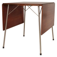 Danish Folding Dining Table By Arne Jacobsen For Fritz Hansen Model 3601 1950s