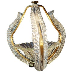 Liberty Pendant by Ercole Barovier, 1940s
