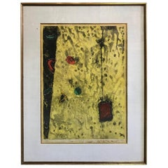 Tokio Miyashita Large Limited Edition Abstract Japanese Print