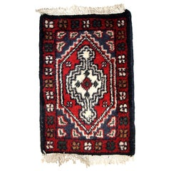 Handmade Vintage Hamadan Style Rug, 1970s, 1C612