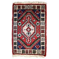 Handmade Vintage Hamadan Style Rug, 1970s, 1C613