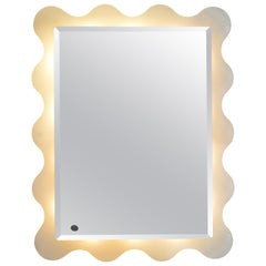 1970s Italian Mirror by ISA Bergamo