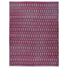 Vintage Persian Meshad Rug