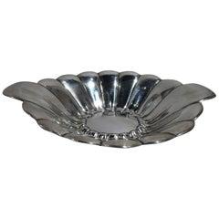 Reed & Barton Mid-Century Modern Sterling Silver Petal Bowl