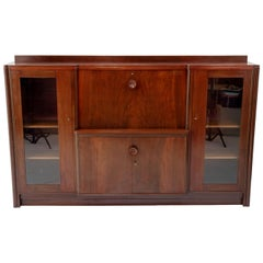 Amsterdam School Art Deco Buffet Cabinet, 1920s