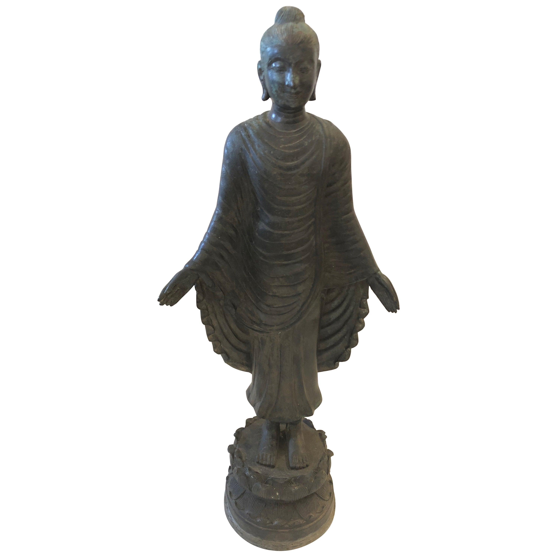 Gorgeous Thai Buddha Bronze Statue