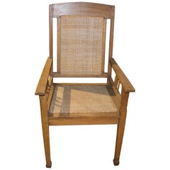 Andrianna Shamaris Teak Wood Colonial Chair