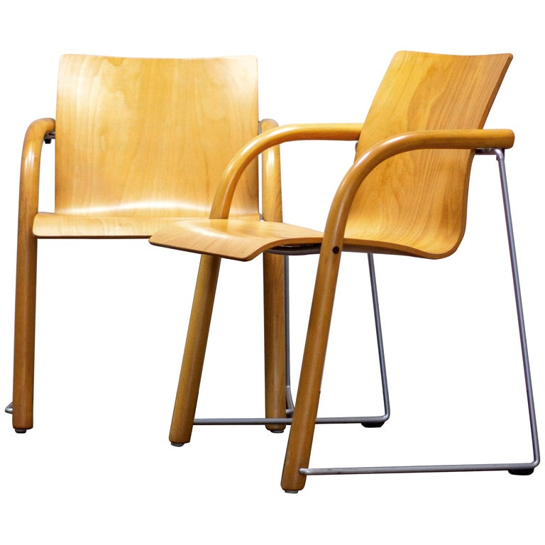 Pair of Armchairs by Ulrich Bohme/ Wulf Schneider for Thonet