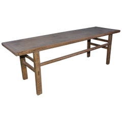 Rustic Plank Top Coffee Table