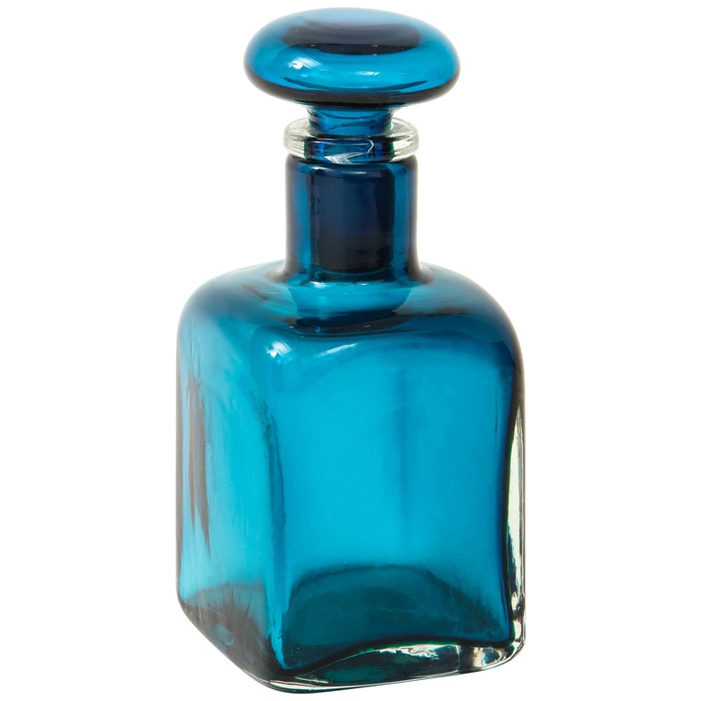 Venini large bottle with stopper, 1950s, offered by soyun k.