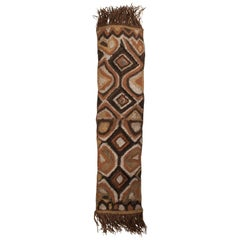 Early 20th Century Ceremonial Tribal Woman's Rain Hood, Papua New Guinea