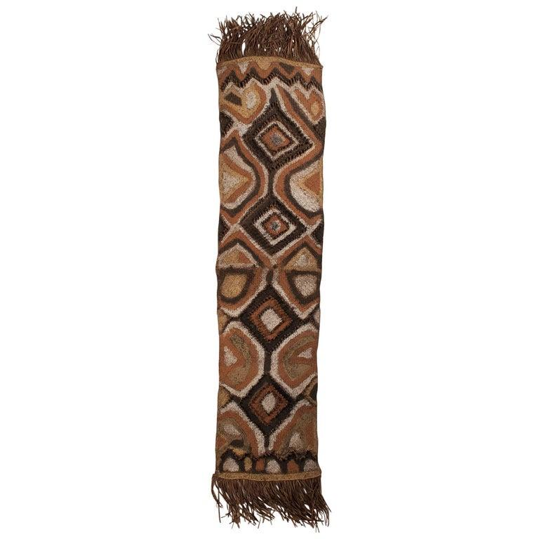 Early 20th Century Ceremonial Tribal Woman's Rain Hood, Papua New Guinea For Sale