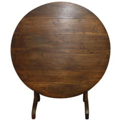 Early 19th Century French Tilt-Top Table