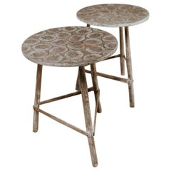 Pair of Occasional Side Tables