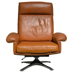 Vintage De Sede DS 31 Swivel Lounge Armchair, Switzerland 1970s