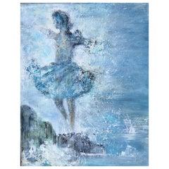 """""""Oceans Dance"""" Oil on Canvas"""
