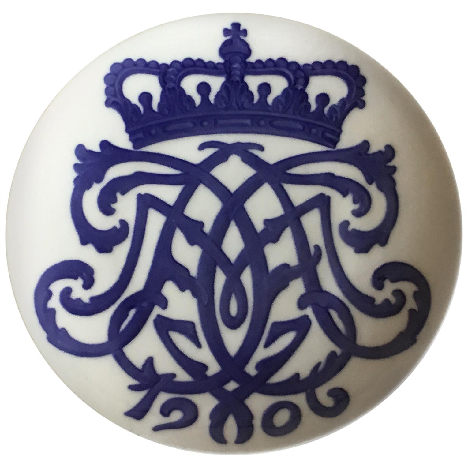 Royal Copenhagen Commemorative Plate from 1906 RC-CM61