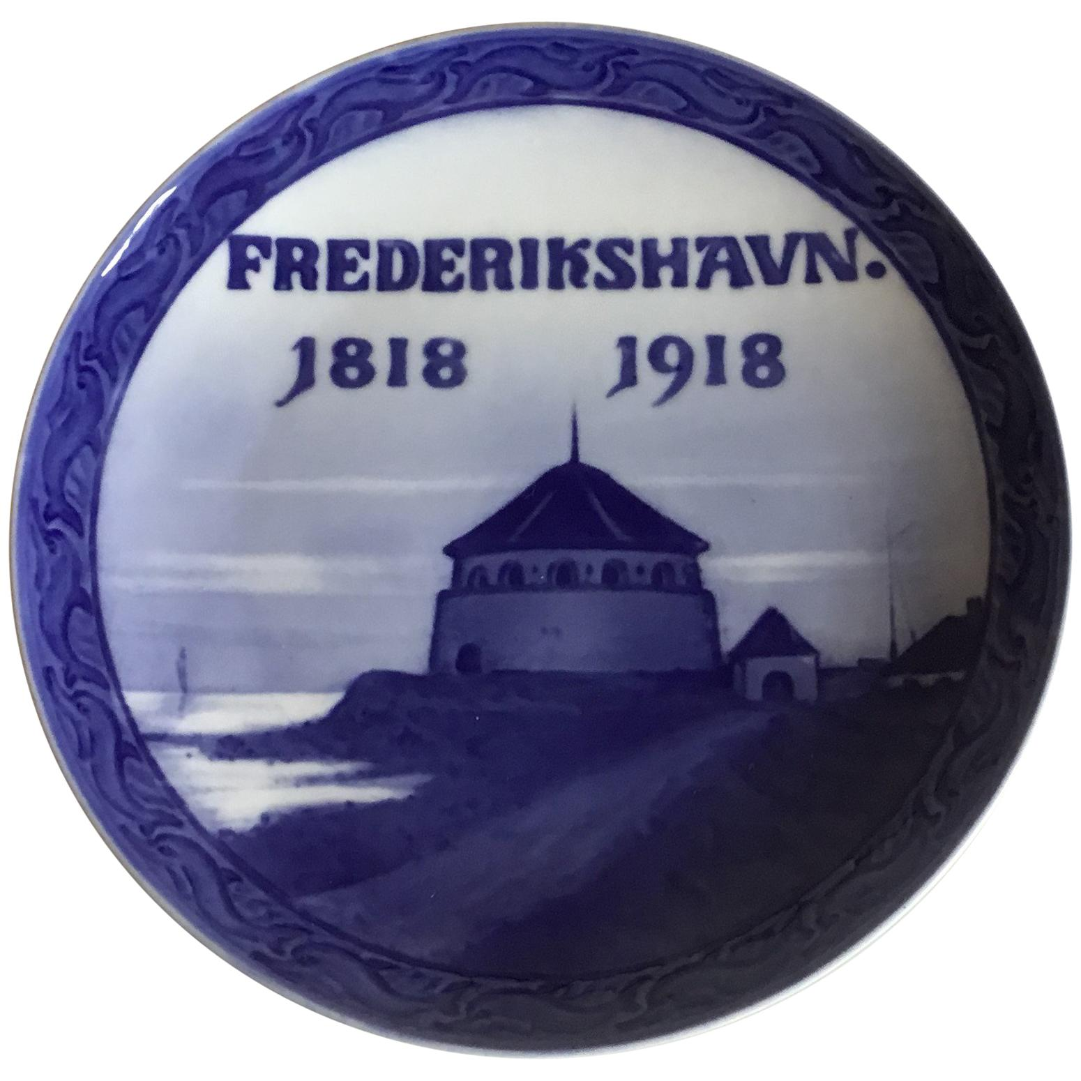 Royal Copenhagen Commemorative Plate from 1918 RC-CM177