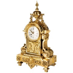 Louis XVI 19th Century Mantel Clock by Leroy