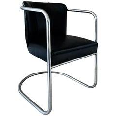 PEL Armchair Tubular Steel Cantilever Vintage Modernist Cox Bauhaus