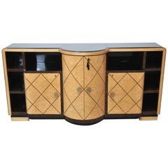 Art Deco Cabinet Bar in the Style of De Coene, 1940s