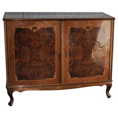 1940s Hungarian Neo-Baroque Chest of Drawers Commode Dresser