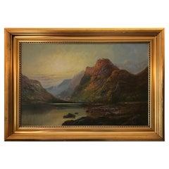British Painter, 20th Century, Scottish Highland Scenery 'Prob. Glen Affric'