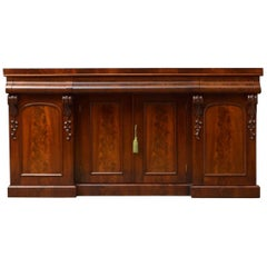 Victorian Mahogany 4-Door Sideboard