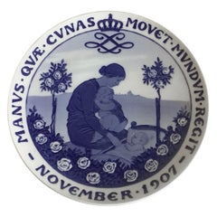 Royal Copenhagen Commemorative Plate from 1907 RC-CM76