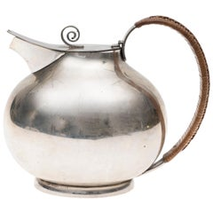 Vintage Silver Teapot, Ricci Manufacture, Italy, 1934-1944