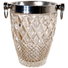 Art Deco Diamond Pattern Champaign Wine Cooler