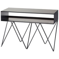 Robot Too Low Steel Sideboard in Black