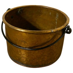 Early 19th Century Brass Cooking Pot