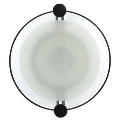 Cyclos Applique or Ceiling Light by Michele De Lucchi for Artemide, 1980s