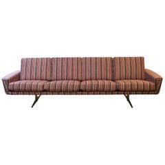 German Three-Seat Sofa