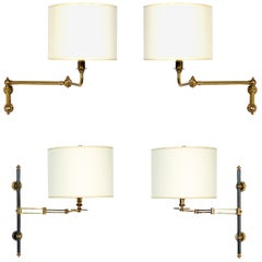Selection of Brass Swing Arm Sconces