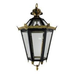 English Tole Hanging Lantern