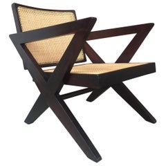 Pierre Jeanneret, Cross Easy Chair, circa 1956