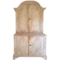 19th Century Swedish Rococo Cabinet