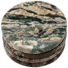 Ocean Jasper Coasters, Set of 4
