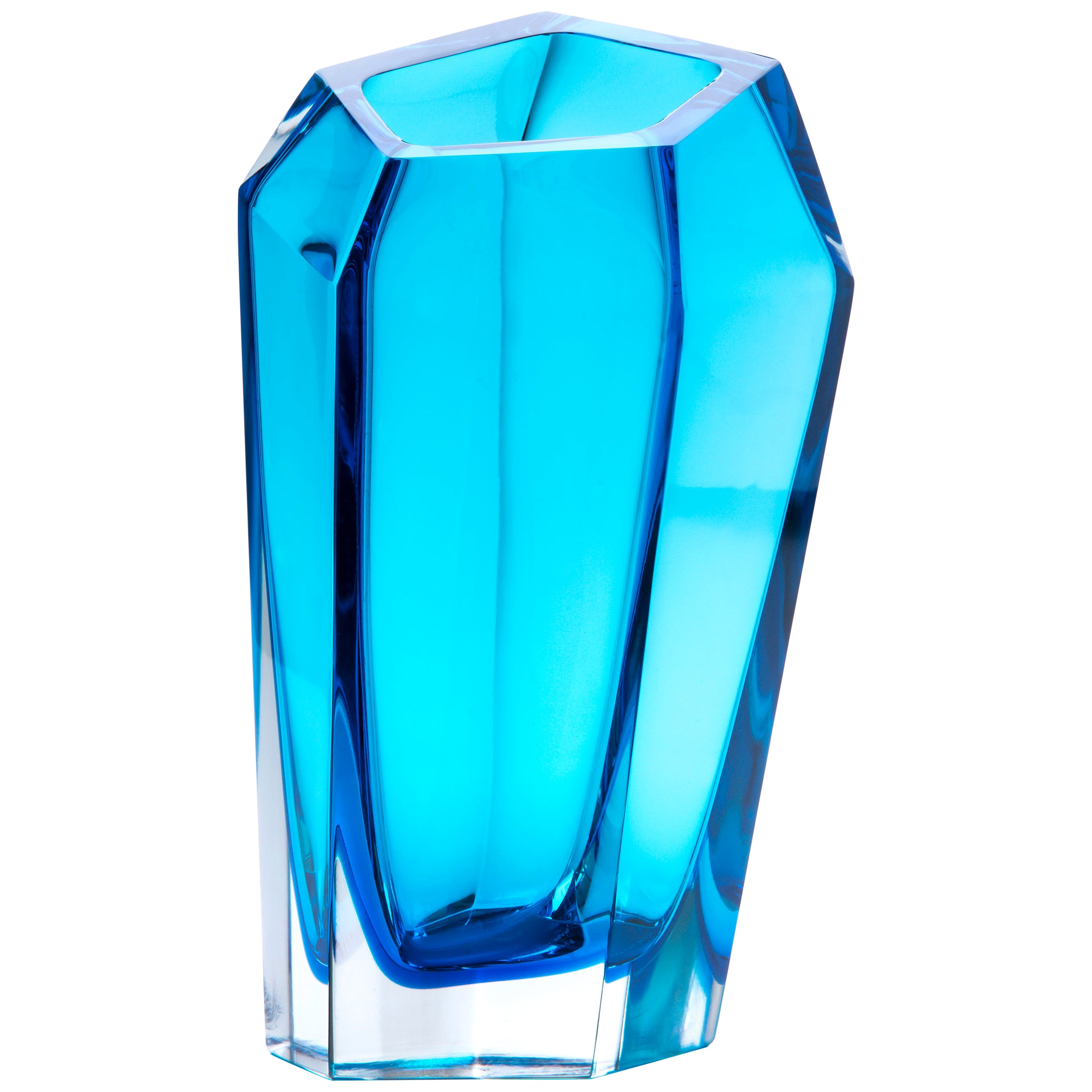 21st Century Karim Rashid Extra Large Vase Murano Glass Various Colors