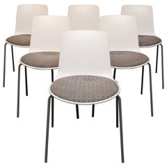 Set of Six Enea Lotus Chairs by Coalesse